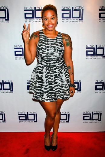 Chrisette Michele in NYC