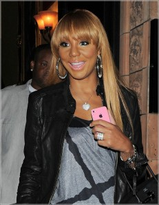 Tamar has said she has natural hair