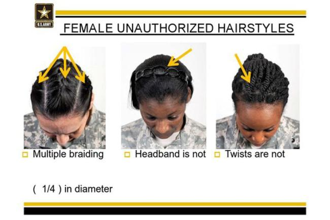 Is the US Military Discriminating against Black Women with Natural Hair?