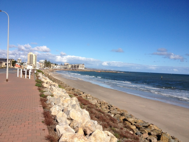 Cycling route, Glenelg SA